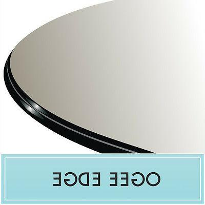 """20"""" Round Clear Tempered Glass Top Replacement 1/2"""" Thick Og"""