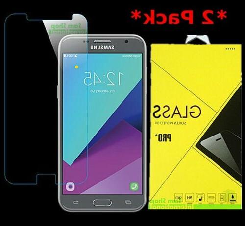 2Pack Tempered Glass Screen Protector For Samsung Galaxy J3