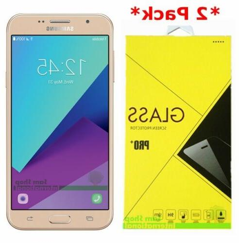 2Pack Tempered Glass Screen Protector For Samsung Galaxy J7