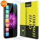 2Pcs Apple iPhone XS Max/XS/XR/ X 8 7 6 6s Plus Tempered Gla