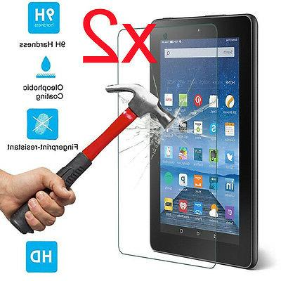 2x For Amazon Kindle Fire HD 7 2015 Gorilla Tempered Glass S