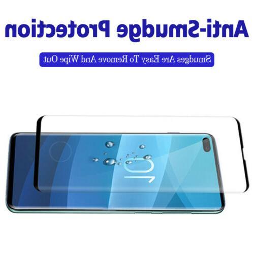 2x Galaxy S10E S10 Plus Cover Glass Protector