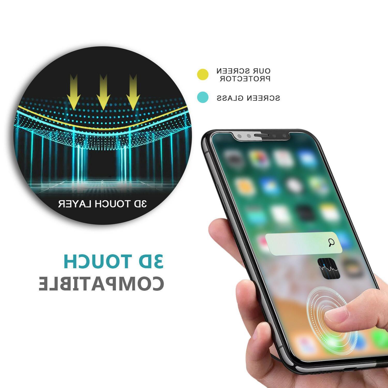 Premium & Back Tempered iPhone 11 X Max 8