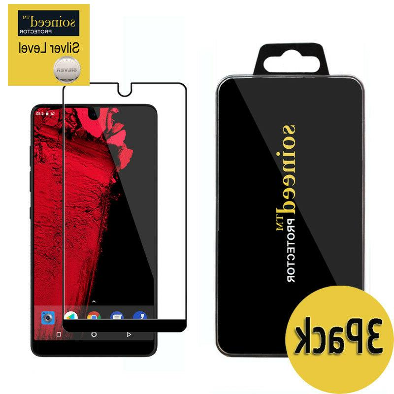 SOINEED Essential Phone PH-1 FULL COVER Tempered Glass Scre