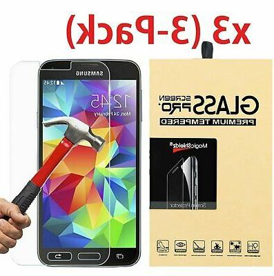 3-Pack Tempered Glass Screen Protector for Samsung Galaxy S3