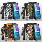 3-in-1 Storm Tank+Holster+Tempered Glass for SAMSUNG J3 2017