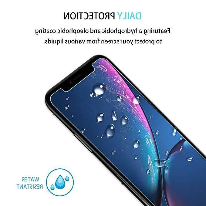 3-Pack Apple XR Tempered Glass Screen Install