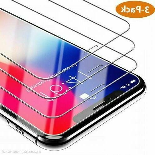 3-Pack For 11 Pro 8 Plus Xs XR Protector