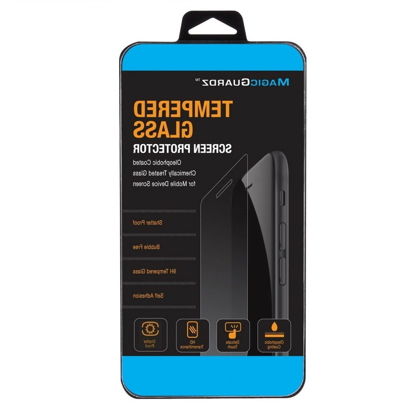3-Pack 6 6s 7 8 Plus X Xs Max XR Tempered GLASS