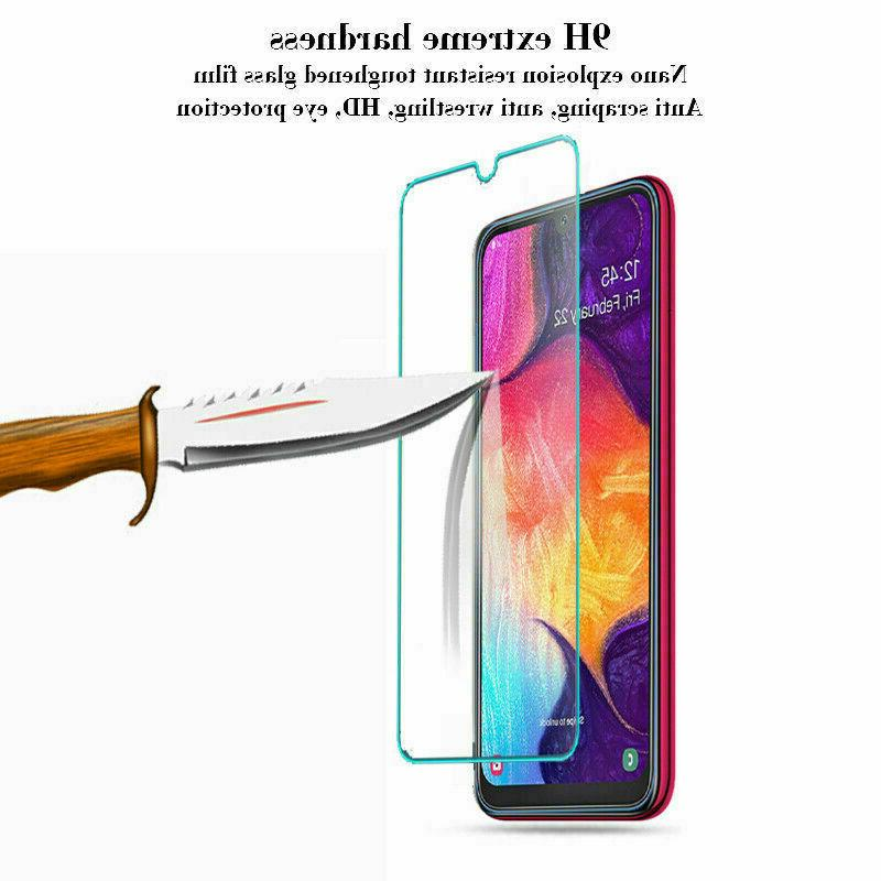 3-Pack For Samsung A10e Tempered Glass Clear HD Screen Protector