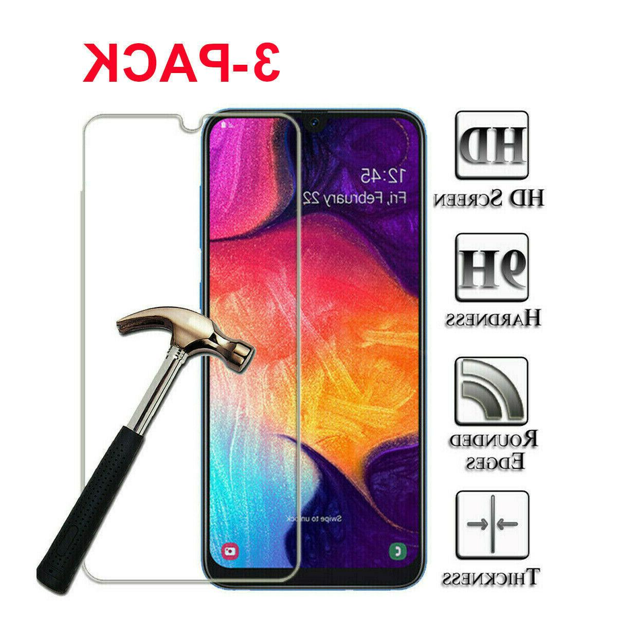 3 pack for samsung galaxy a10e tempered