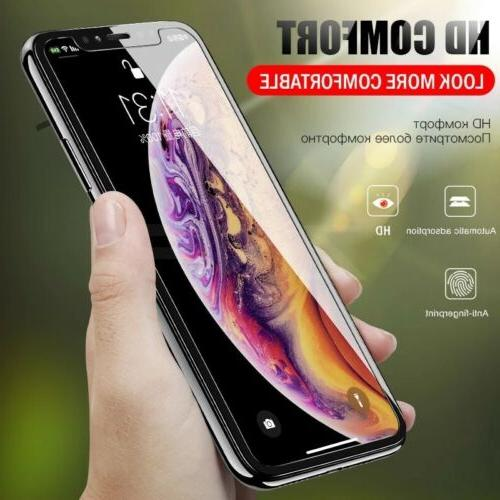 3-Pack 11 Pro 7 Plus X Xs XR GLASS Screen Protector