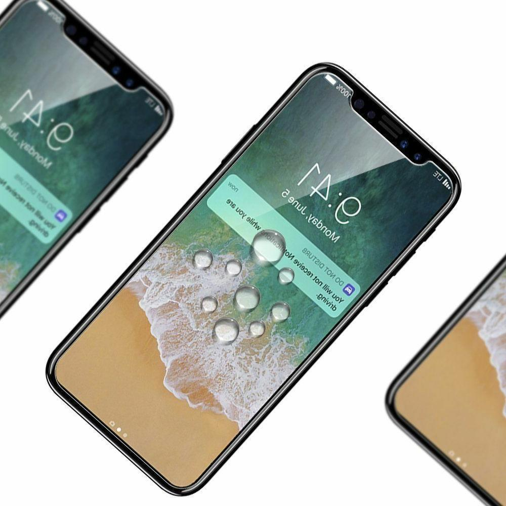 3-Pack iPhone 6s 7 X Xs Max Tempered GLASS
