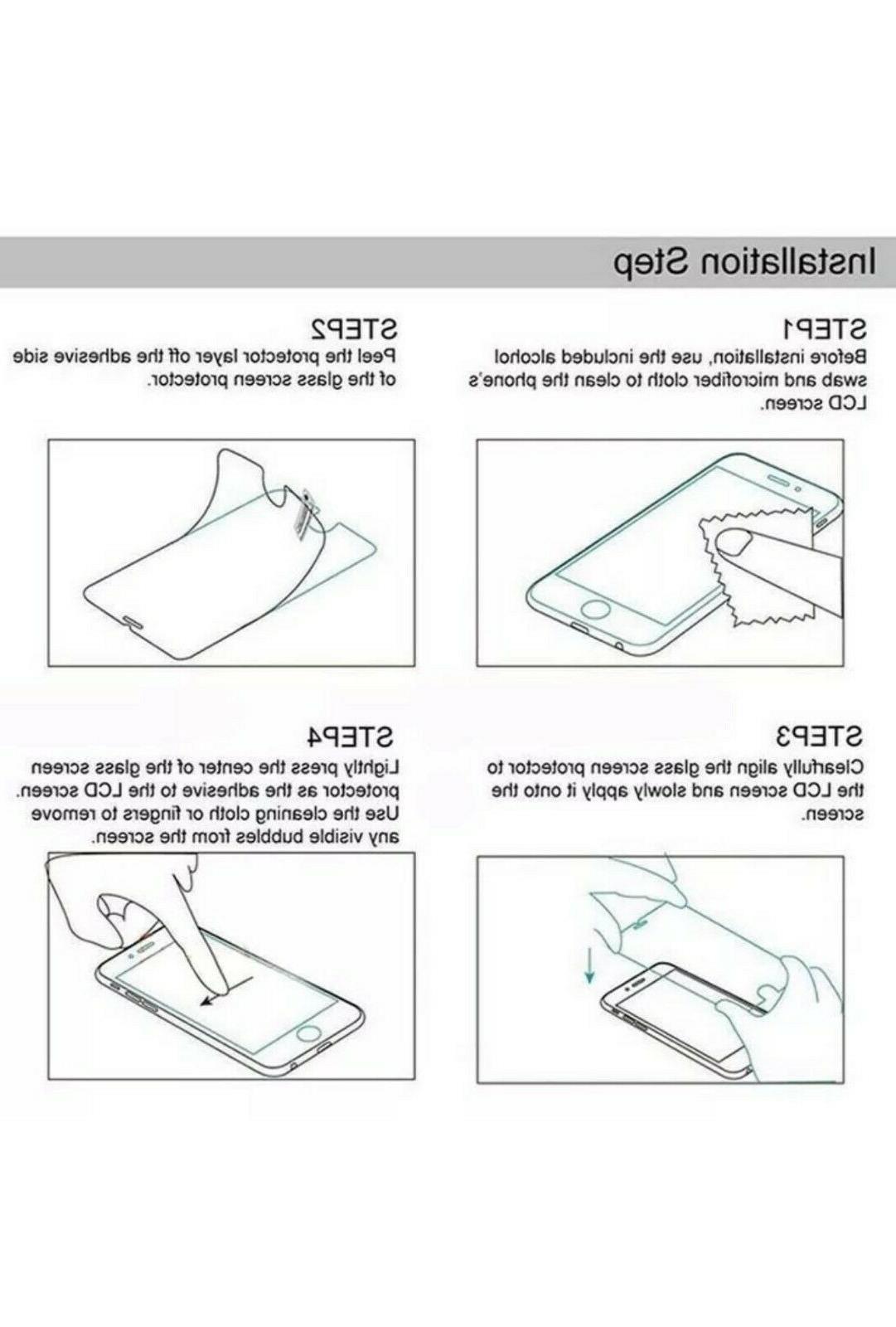 3-Pack Premium Glass Screen Samsung Galaxy A20