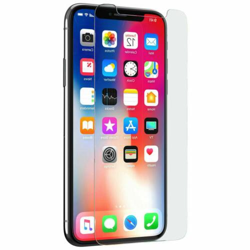 3-PACK Screen Protector Glass For 7 8 Xs Max Pro