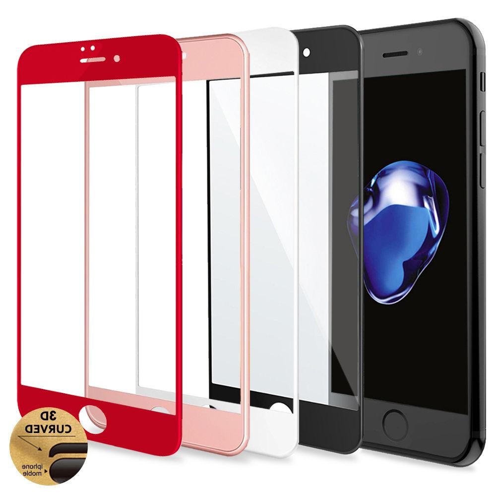 3D Curved Full Coverage Tempered Glass Screen Protector for