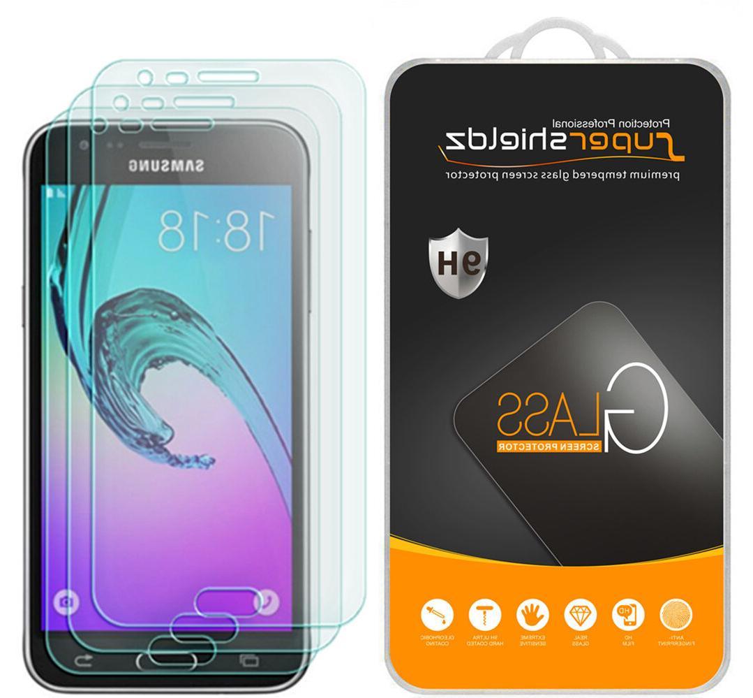 3X Supershieldz Samsung Galaxy J3 V / J3V Tempered Glass Scr