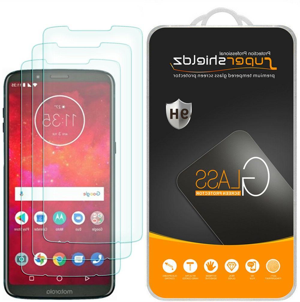 3X Supershieldz Tempered Glass Screen Protector for Motorola