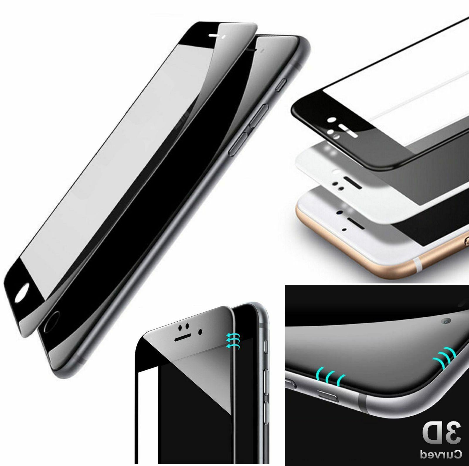 3D Curved Full Cover Tempered Screen for iPhone