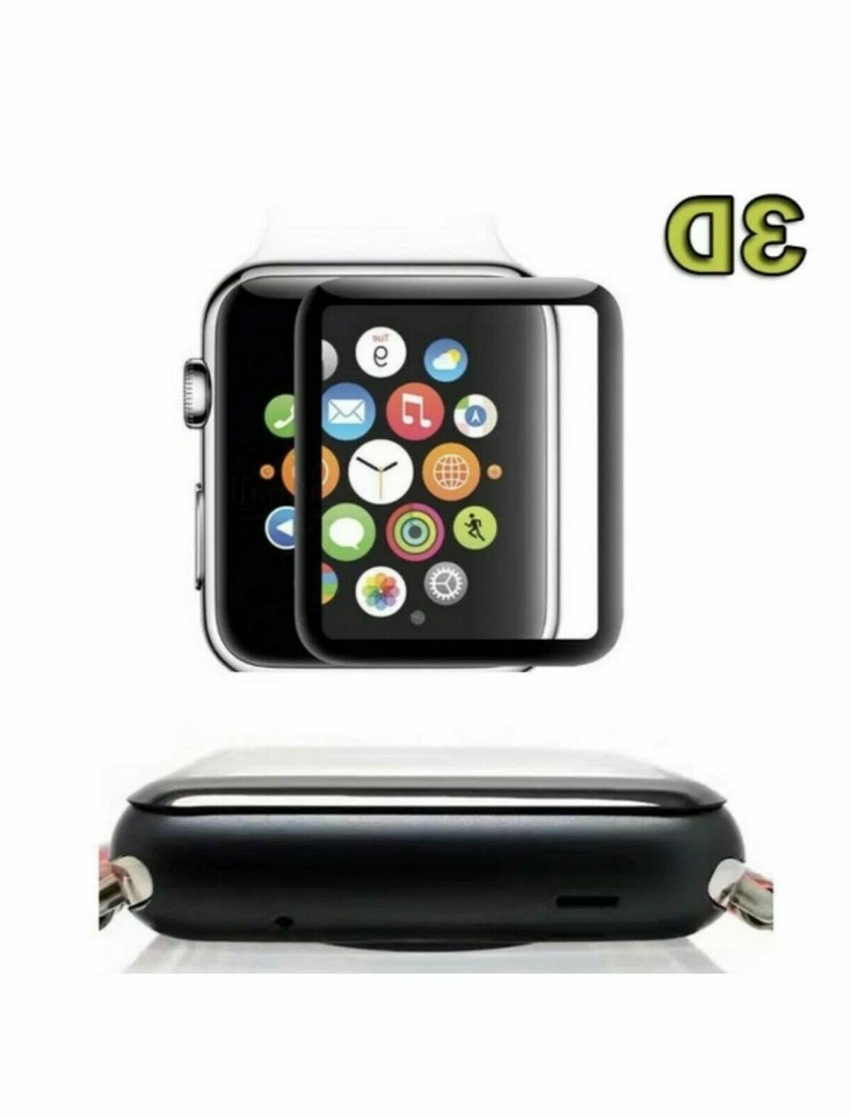 3D Glass Protector Watch 4/3/2/1 38/42/40/44mm