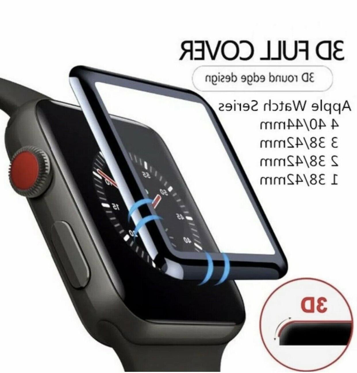 3d tempered glass screen protector for iwatch