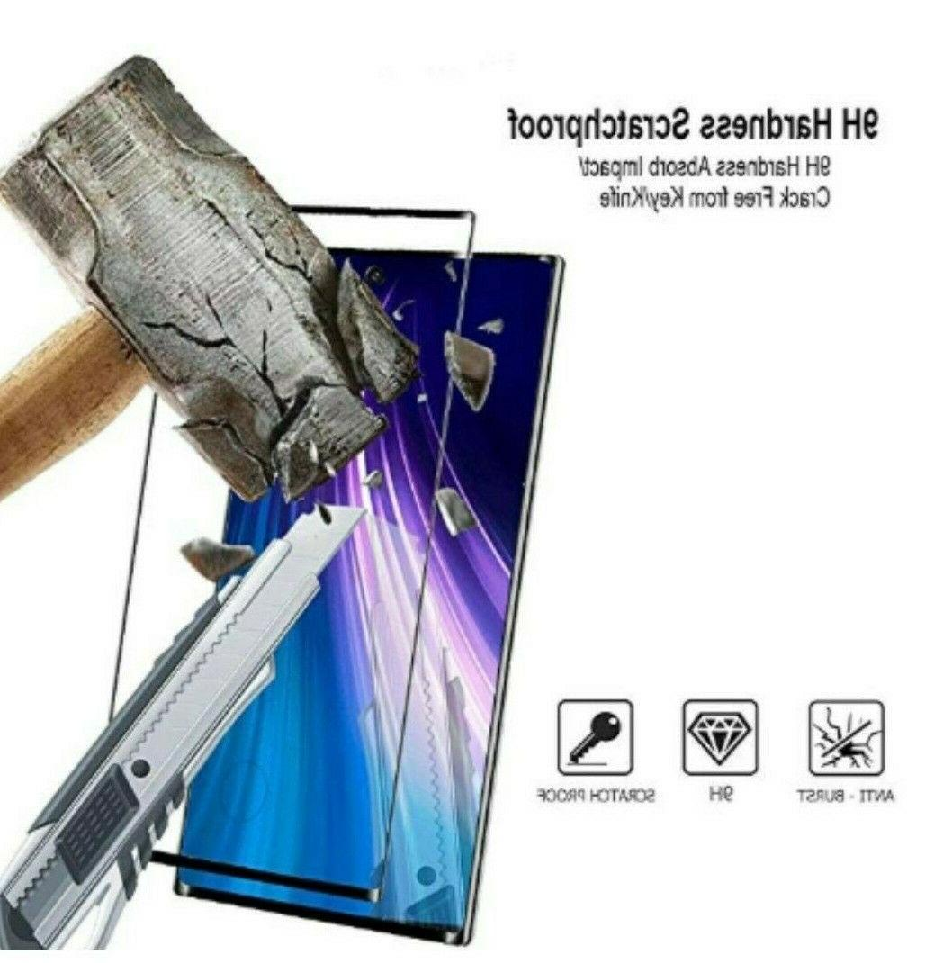 3x Full Tempered Glass Protector Samsung Galaxy