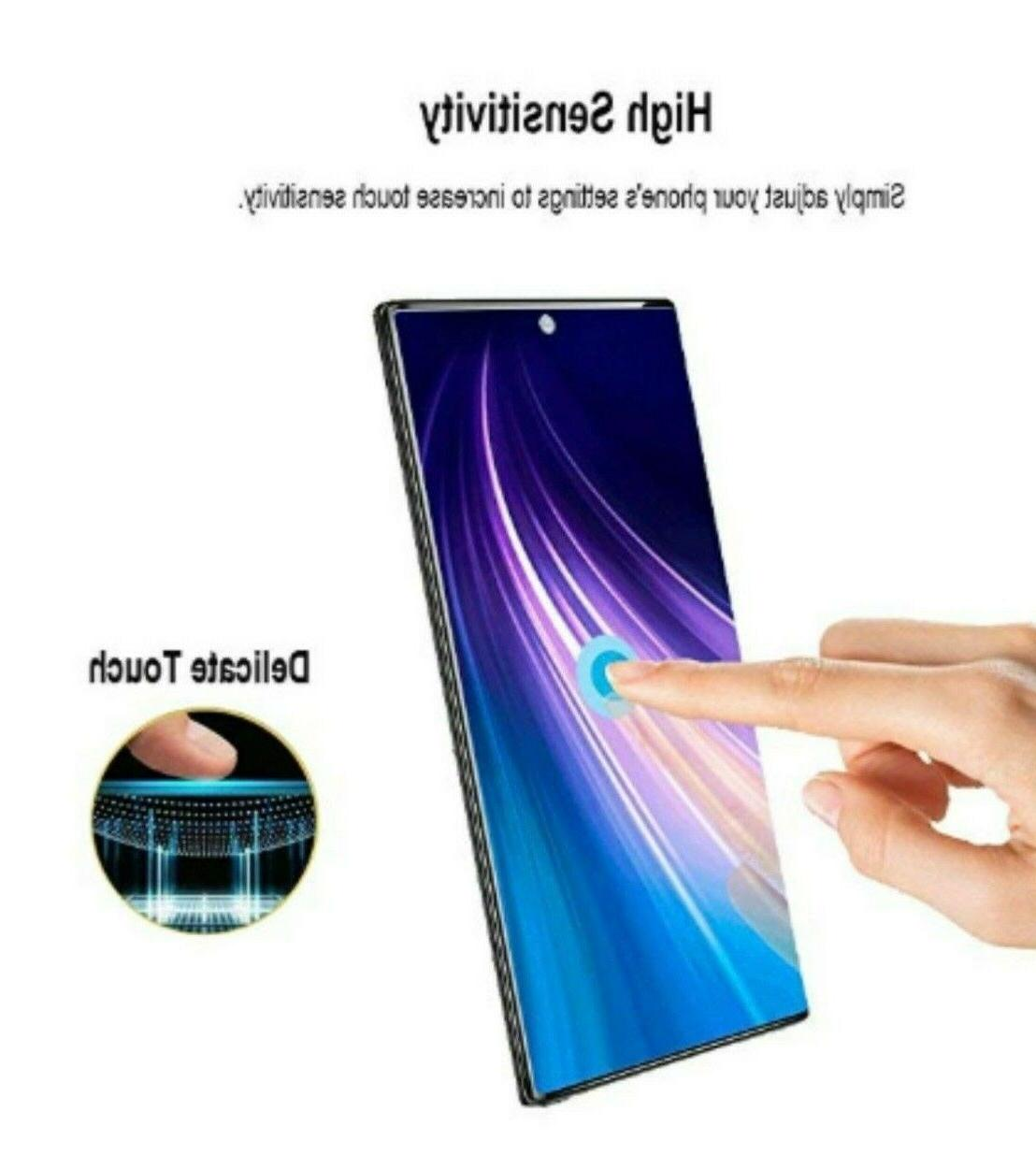 3x Full Cover Glass Samsung