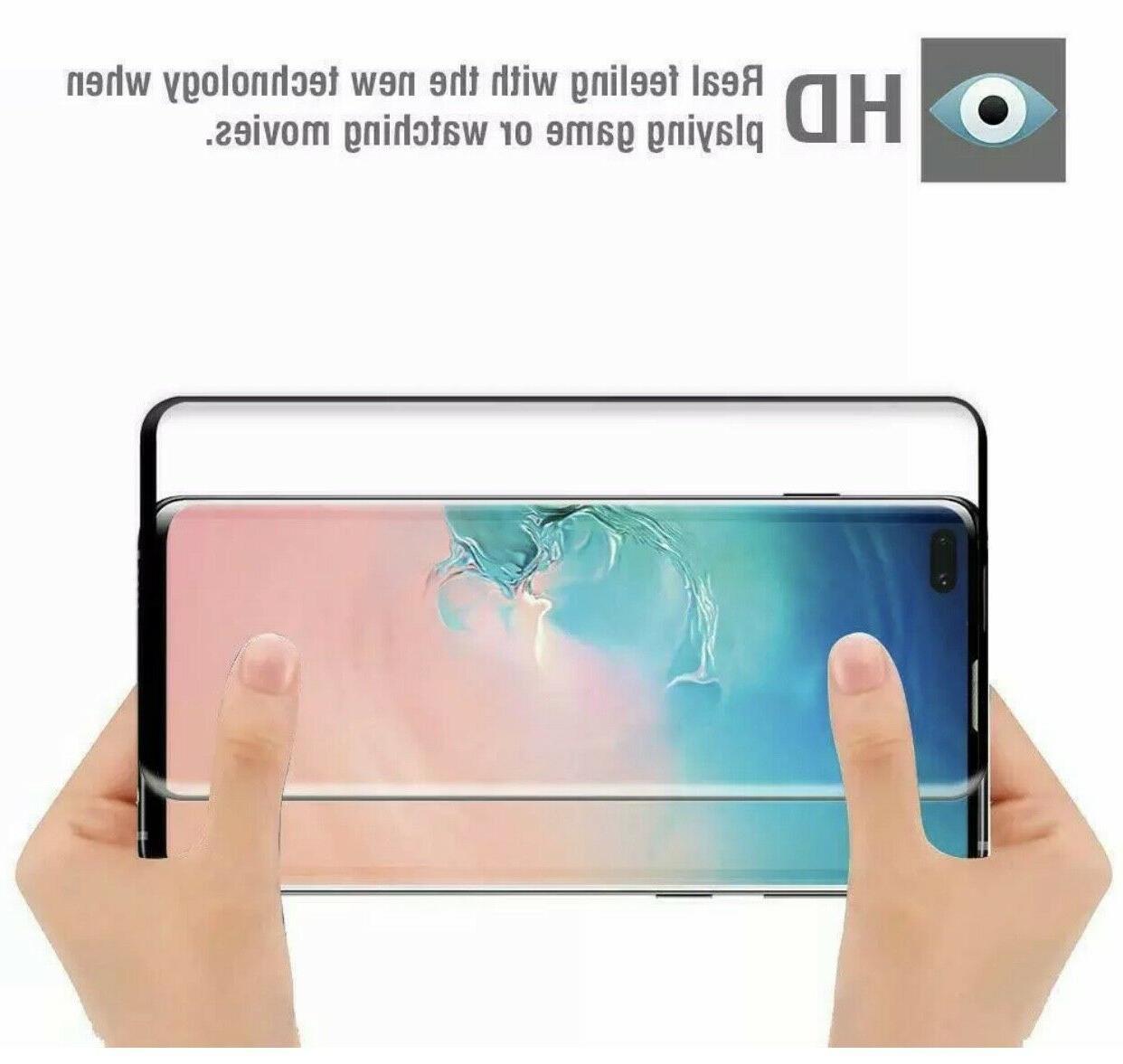 3X Glass Screen Protector Samsung Galaxy S10 Plus S10E
