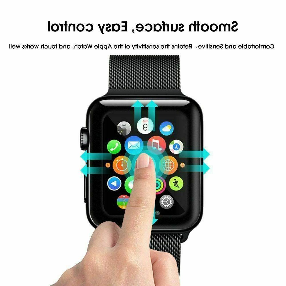3x Tempered Screen For iWatch 3 2