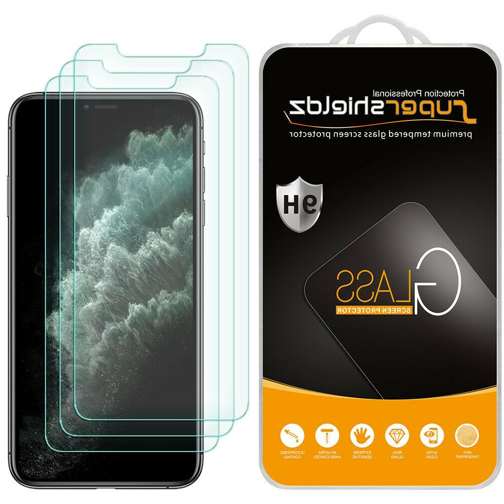 3x tempered glass screen protector saver