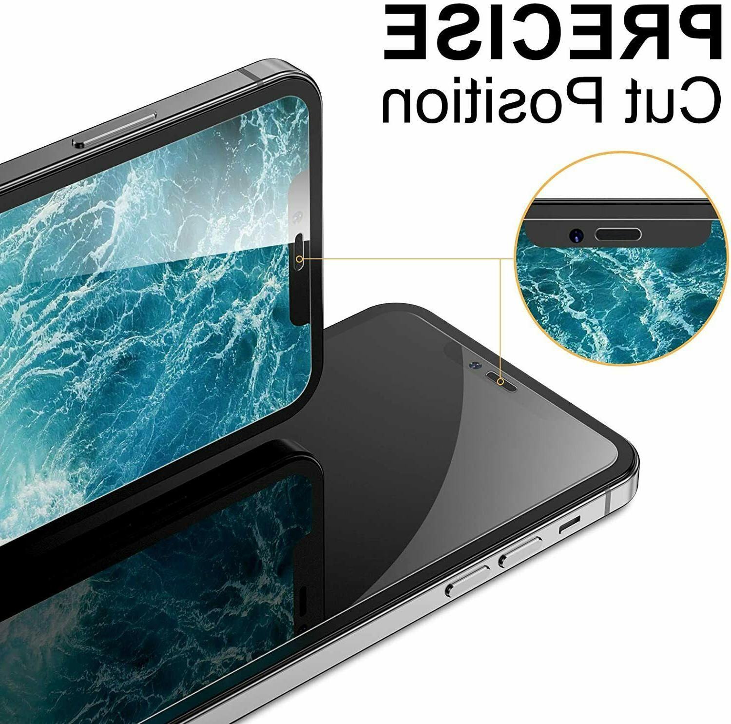 4 Pack Pro iPhone 12 Pro Glass Protector