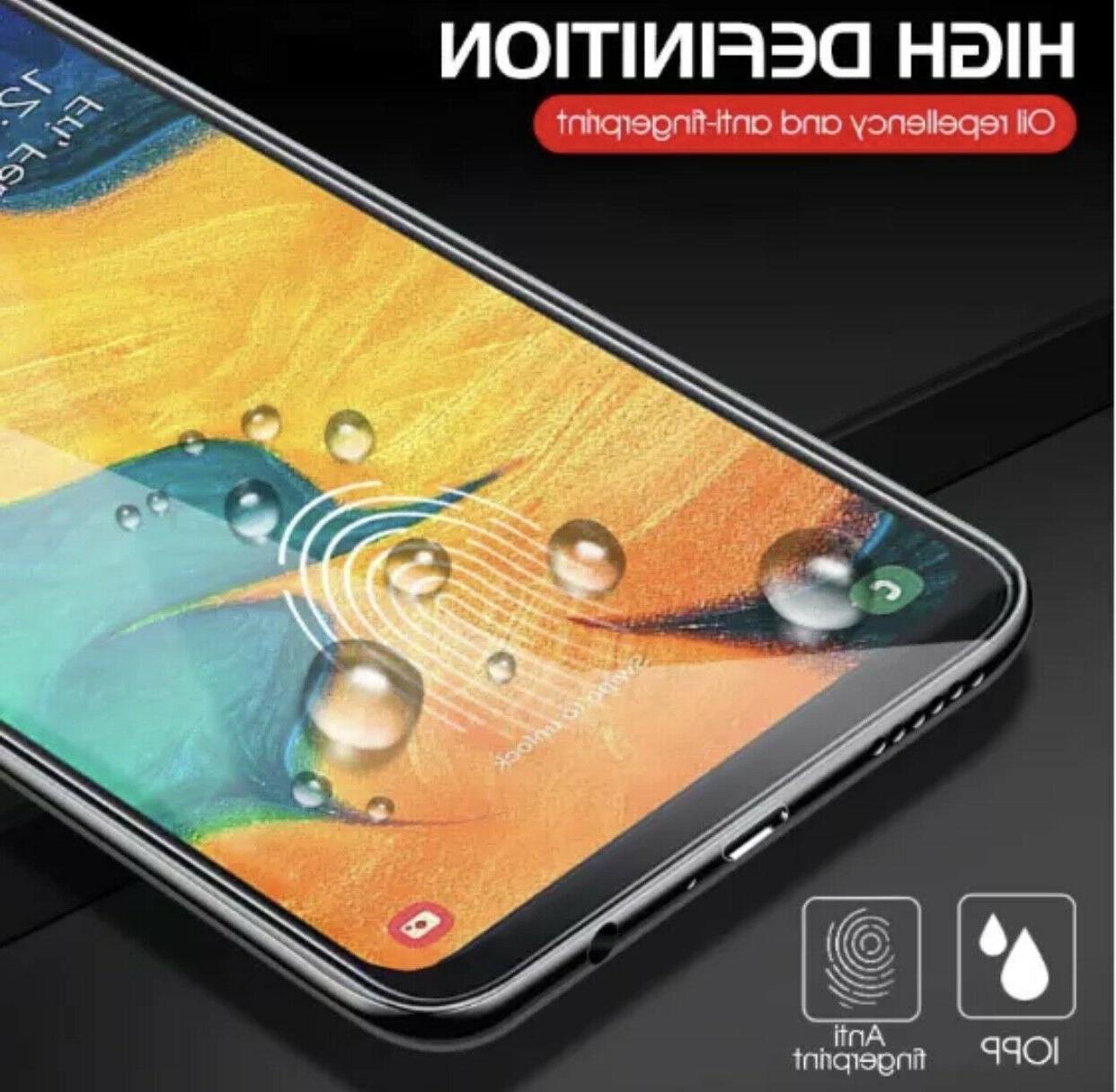 4x Premium Clear Glass Screen Samsung Galaxy A20 A30 A50