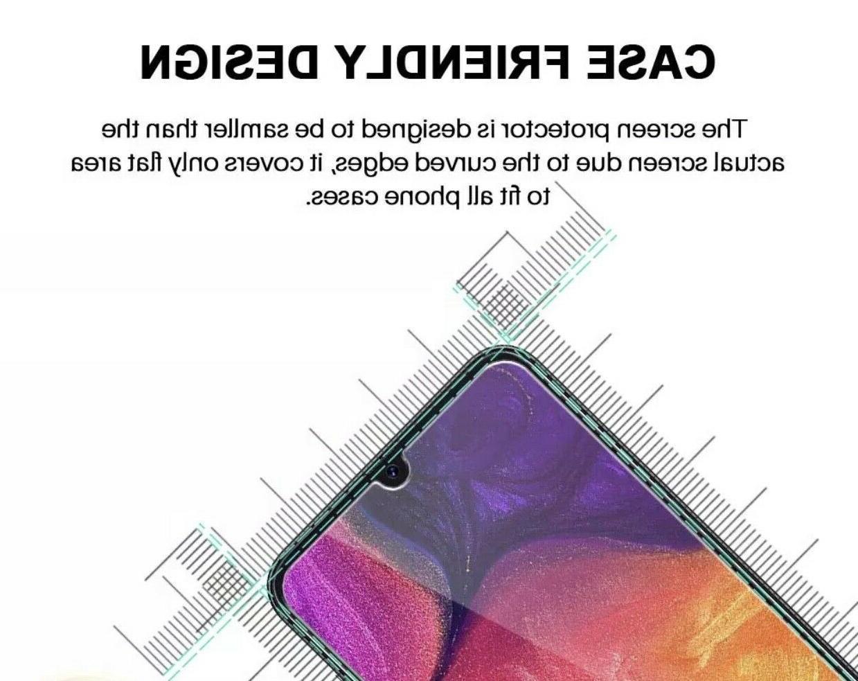 4x Premium Clear Glass Screen Protector Samsung A50