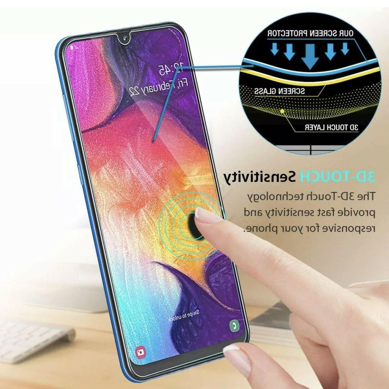 4x Premium Glass Protector Samsung A20 A50