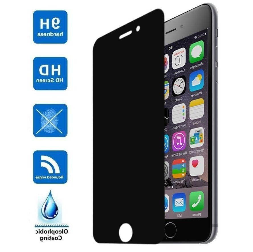 Privacy Anti-Spy Tempered Glass Screen for X 6 7 8 Plus