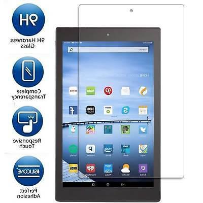 All New Fire HD 10 Tablet w/ Alexa  Tempered Glass Screen Pr