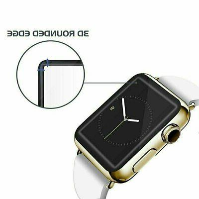 Apple Watch Series 3/2/1 3D Full Edge 9H Tempered Glass Scre