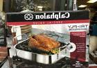 Calphalon Tri-Ply Stainless Steel 14-Inch Roaster with Rack