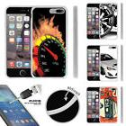 For Apple iPhone 7 Plus  Flexible TPU Case + Tempered Glass