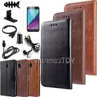 For Samsung Galaxy J3 2018 Card Wallet Holder Leather Case C