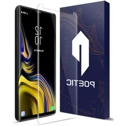 For Samsung Galaxy Note 9 Poetic【HD Clear】Tempered Glass
