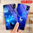 For iPhone X 8 7 6s 6 Plus Shockproof Hard Tempered Glass Sl