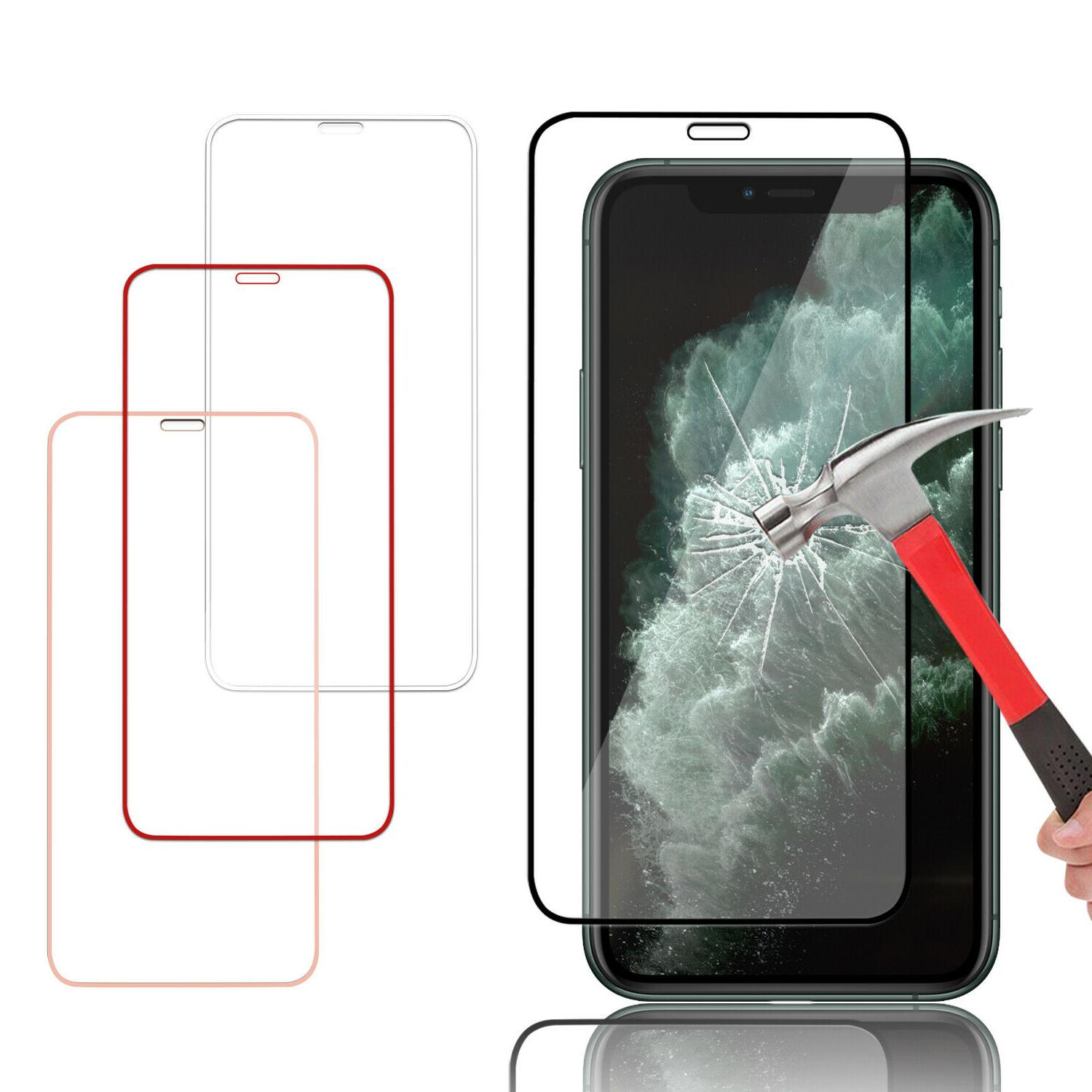 For iPhone X/XS Max/XR Full Coverage Tempered Glass Screen P