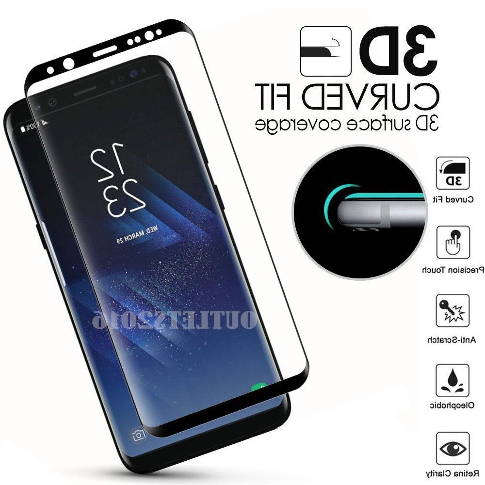 Full Cover Tempered Glass Screen Protector F Samsung Galaxy