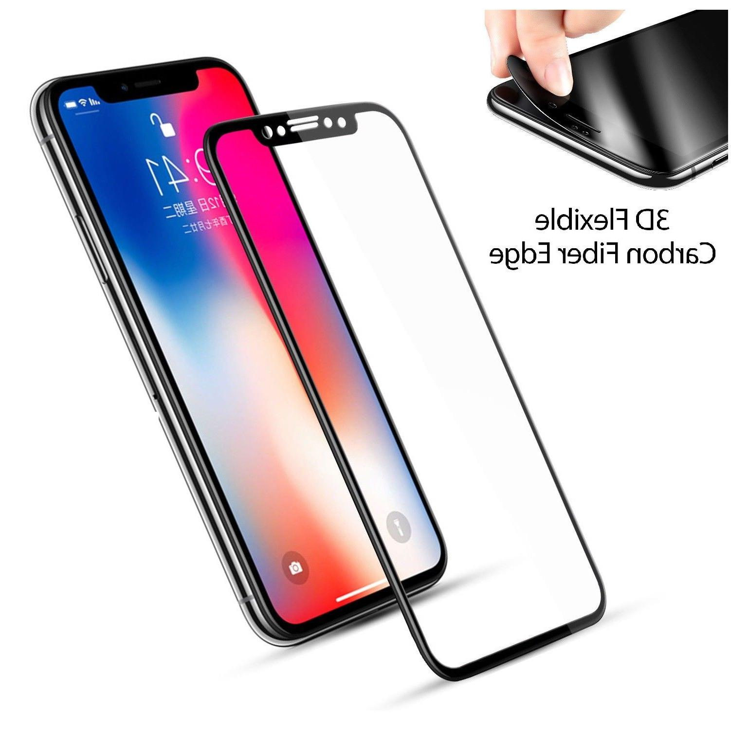 Full Tempered Glass Screen For X Xs Max XR