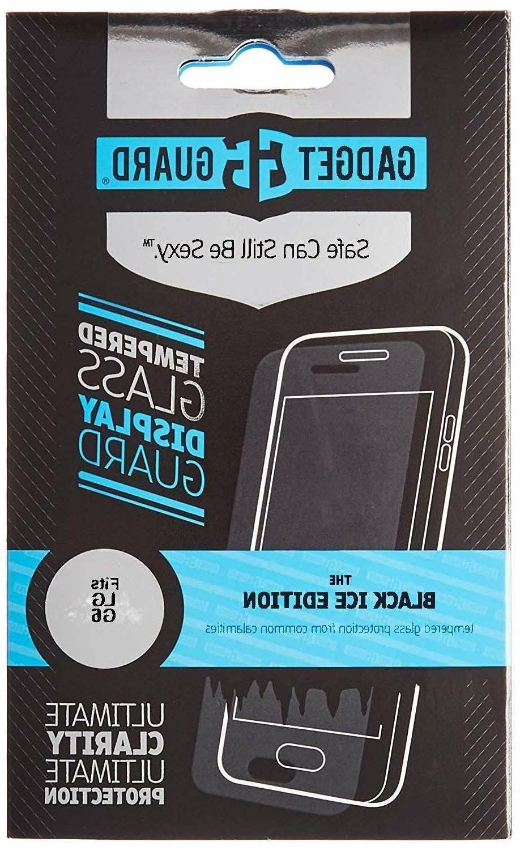 Gadget Guard Black Ice Edition Tempered Glass Screen Guard F