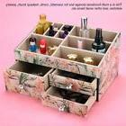 Large Capacity Tempered Glass Drawer Jewelry Box Cosmetic Or