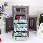 Large Capacity Tempered Glass Drawer Jewelry Box Earrings Ri