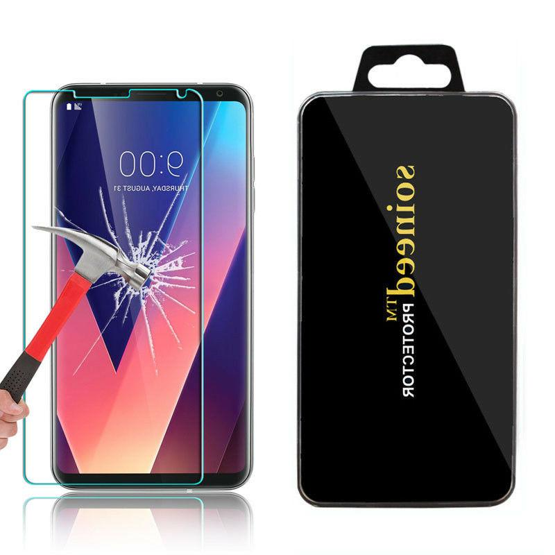 Lots Clear Tempered Glass Screen Protector Film Cover For LG