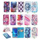 Magnetic Open PU Leather Wallet TPU Gel Case Cover Card Hold